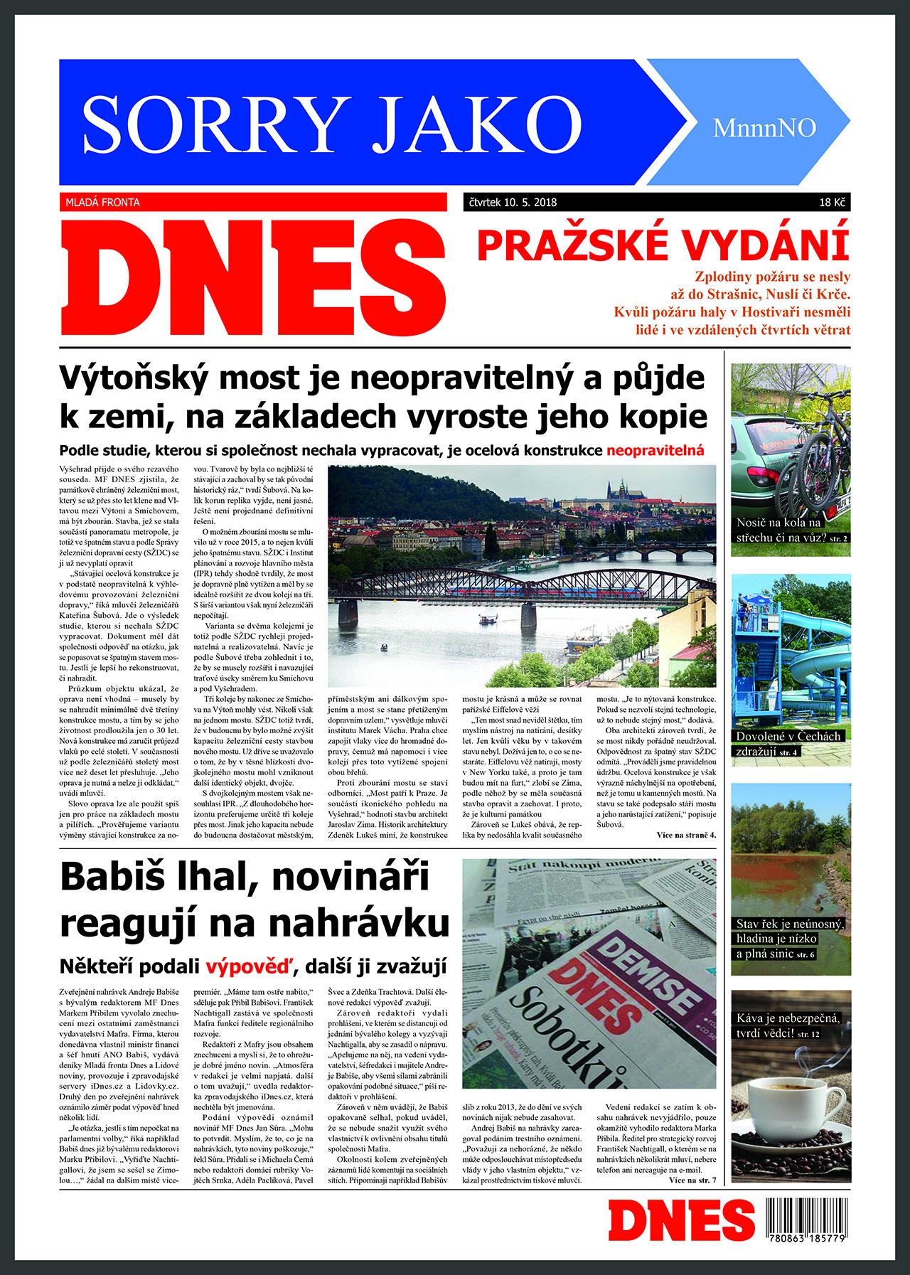 sazba novin <br>