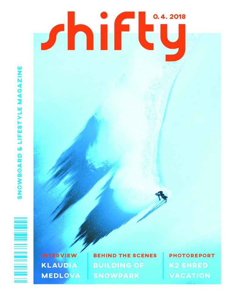 časopis Shifty<br> obálka<br> maturitní práce | 4.ročník