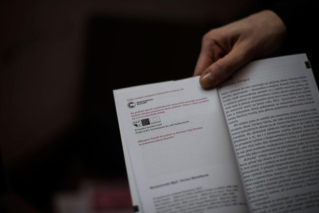 Čtení o Václavu Havlovi a Jaroslavu Vrchlickém;představení prvních svazků edice antologie*; Kavárna Na prádle 11. 2. 2014