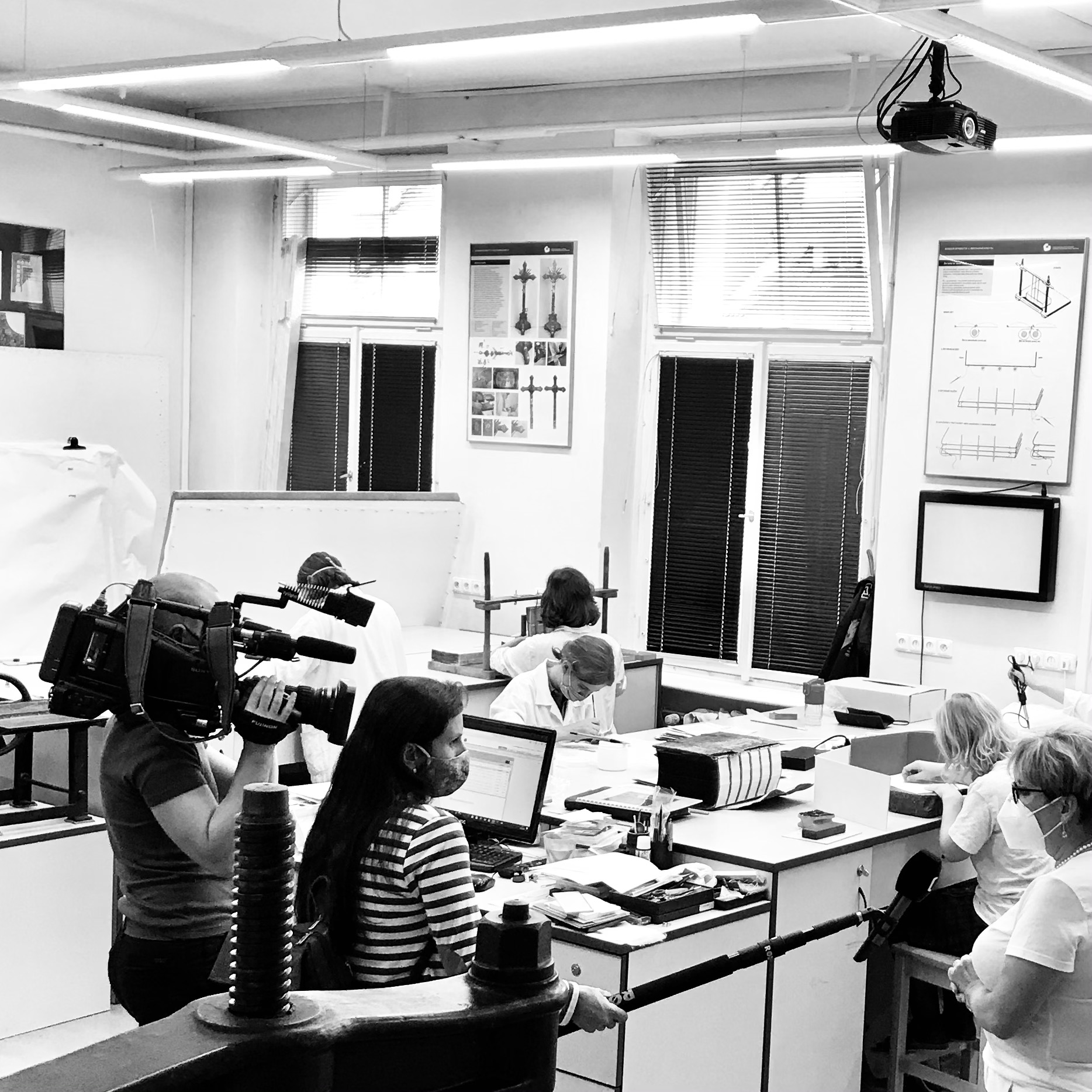 Natáčení reportáže pro pořad Zmetropole<br>23.9.2020