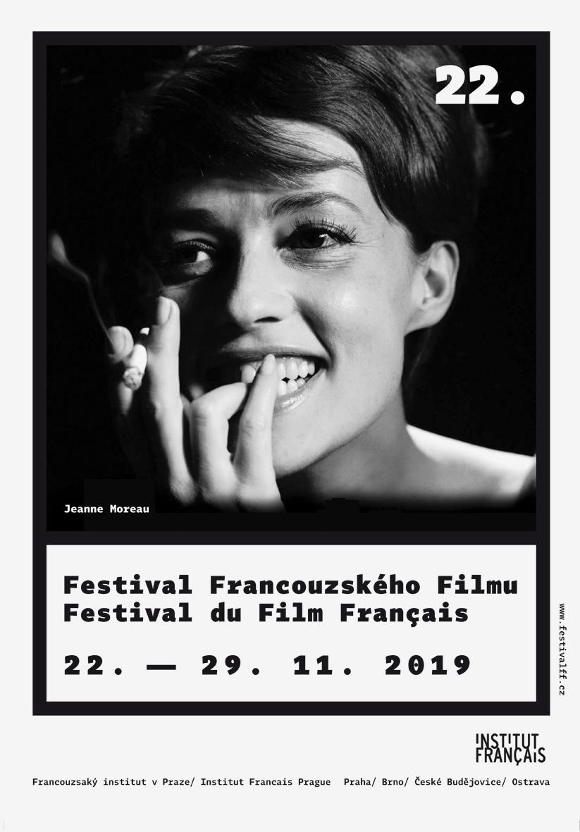 G2 A 01 <br> Festival francouzského filmu | série plakátů <br> klauzurní práce | 2.ročník