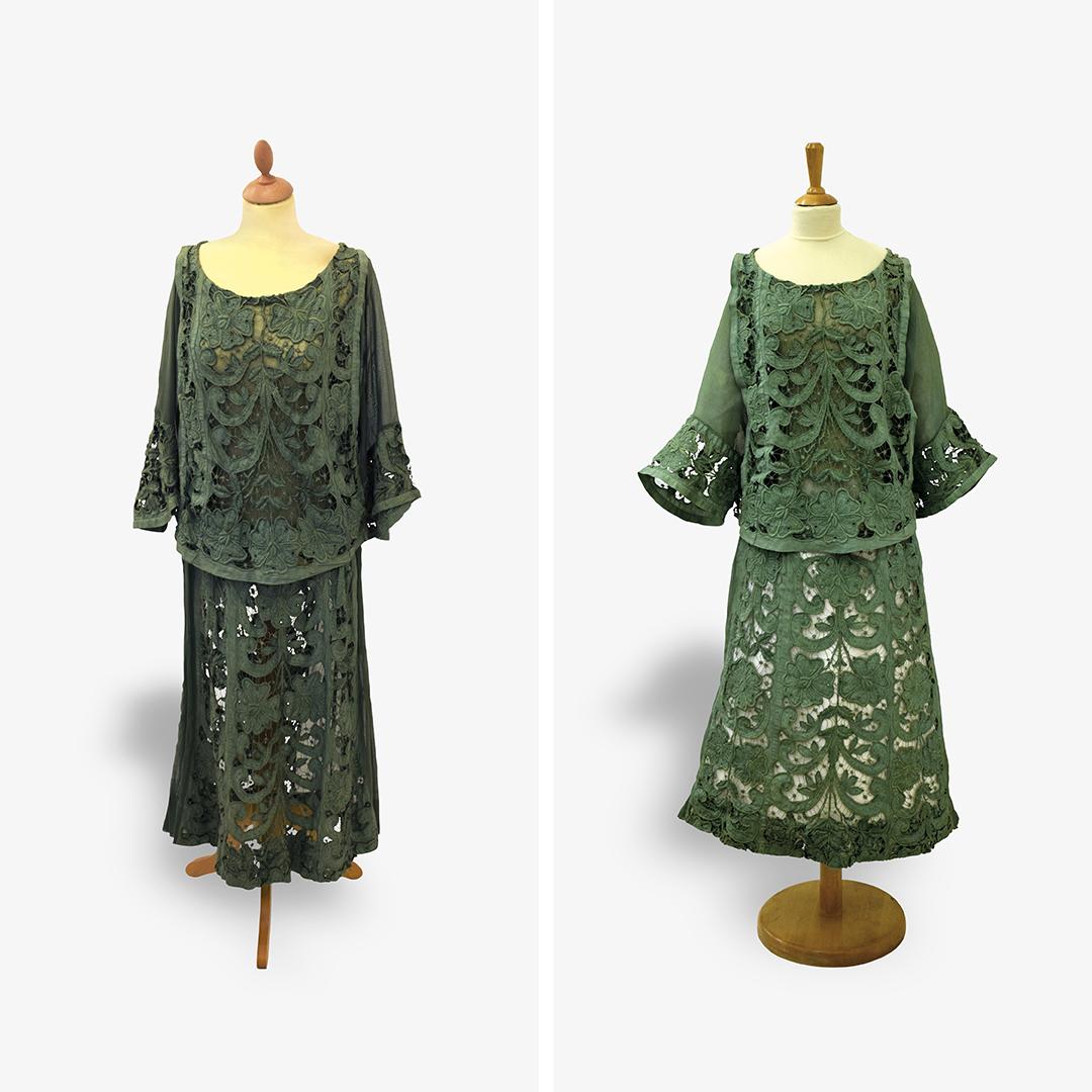 4. ročník <br>2018/19 <br>Letní dámské vycházkové šaty, kolem 1922