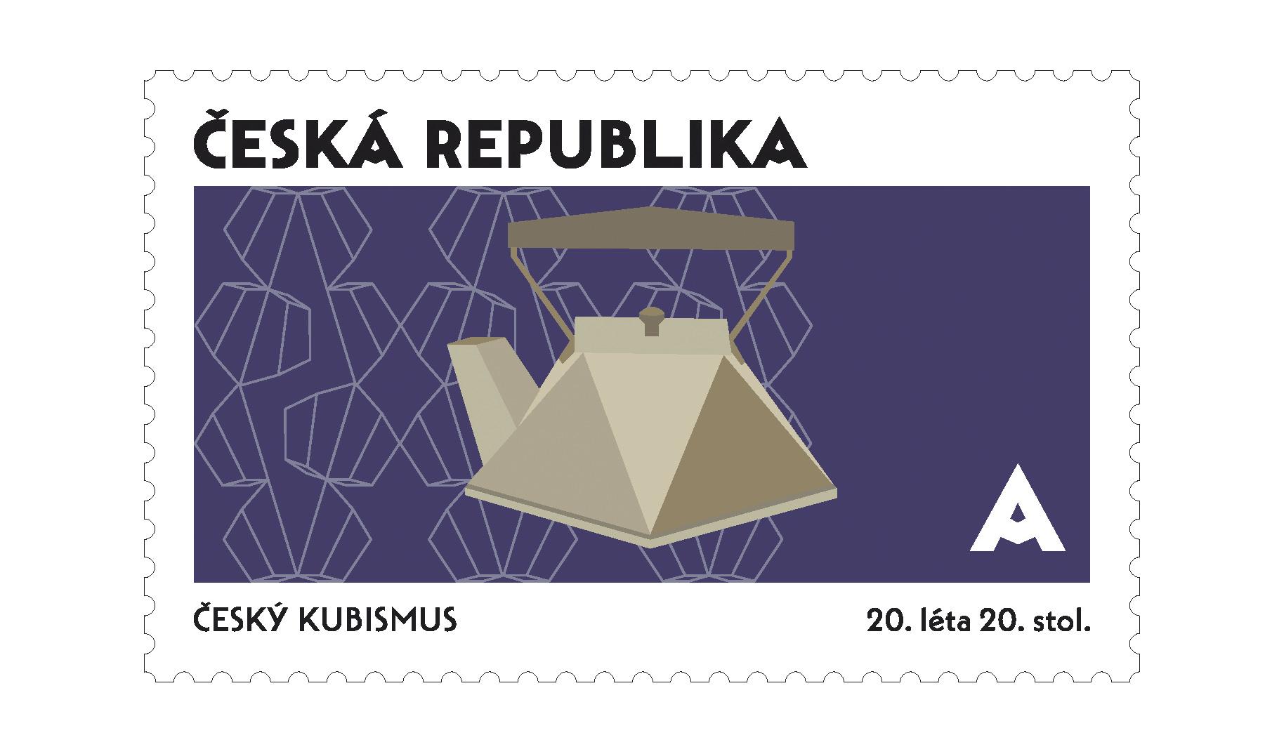 Série poštovních známek, FDC, razítko, přítisk<br> Národní kulturní identita<br> klauzurní práce | 1. ročník<br> G1A 01 2020/2021