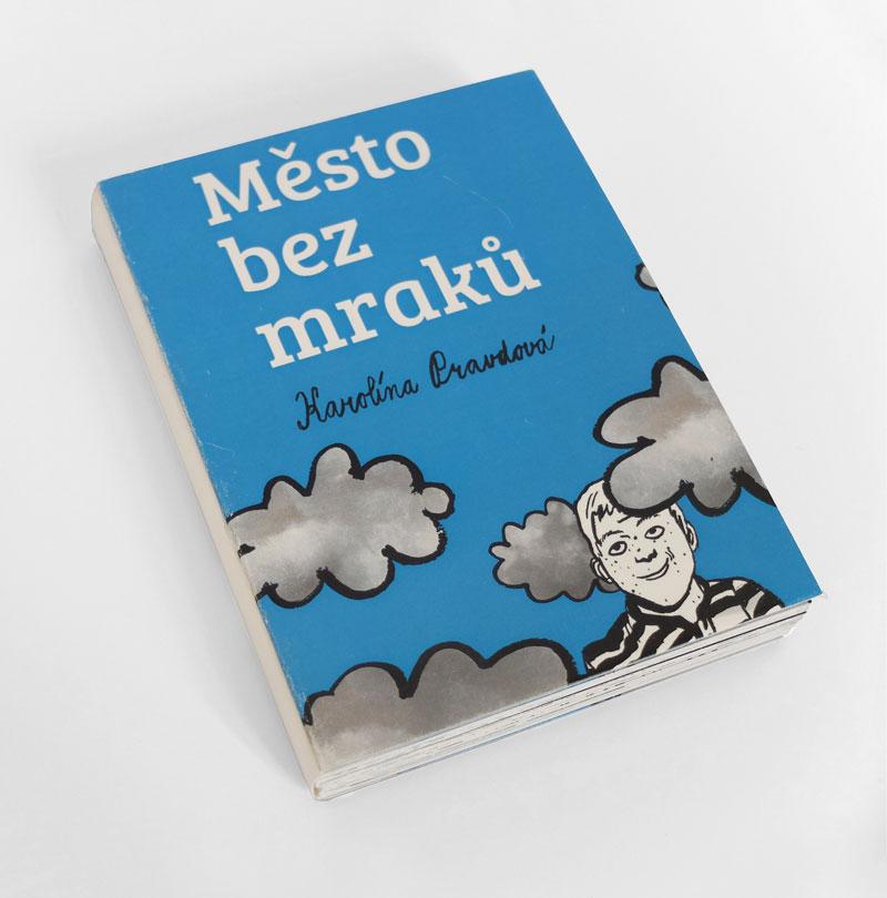 cena asociace 3. místo<br><br>02 Grafický design<br>kniha<br>Město bez mraků— interaktivní kniha<br>SŠ umění adesignu aVOŠ, Brno<br>pedagog: Mgr. Alena Jedličková