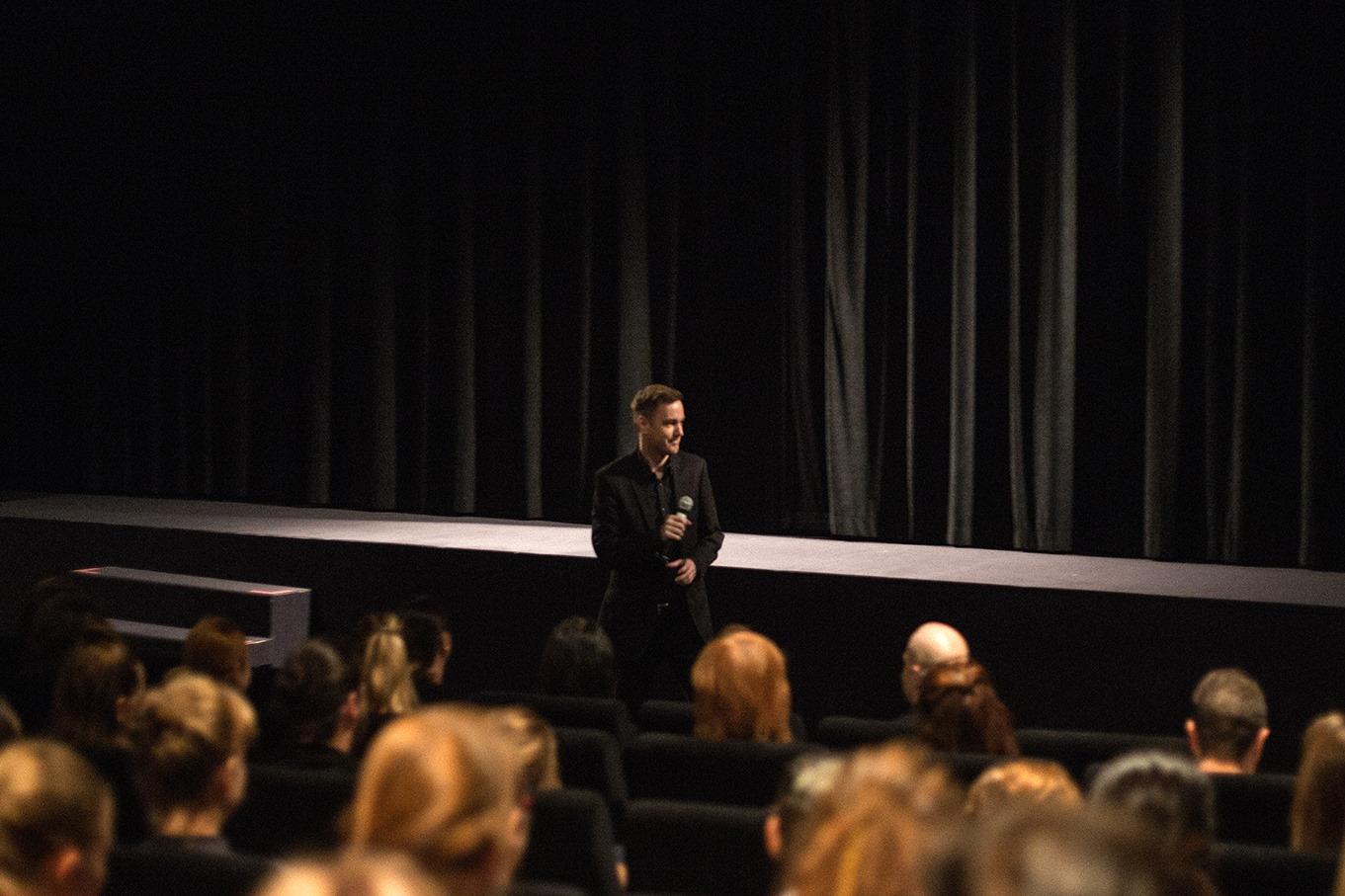 4. 9. 2018 <br> kino Světozor <br> úvodní slovo ředitele školy Radka Blaháka